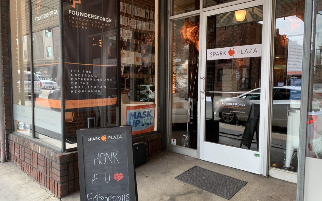 Spark Plaza Partners with FoundersForge on Entrepreneur Center in Johnson City