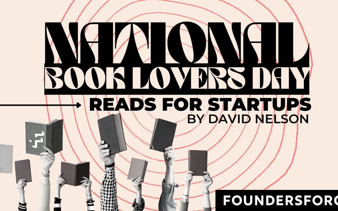 National Book Day Reads for Startups